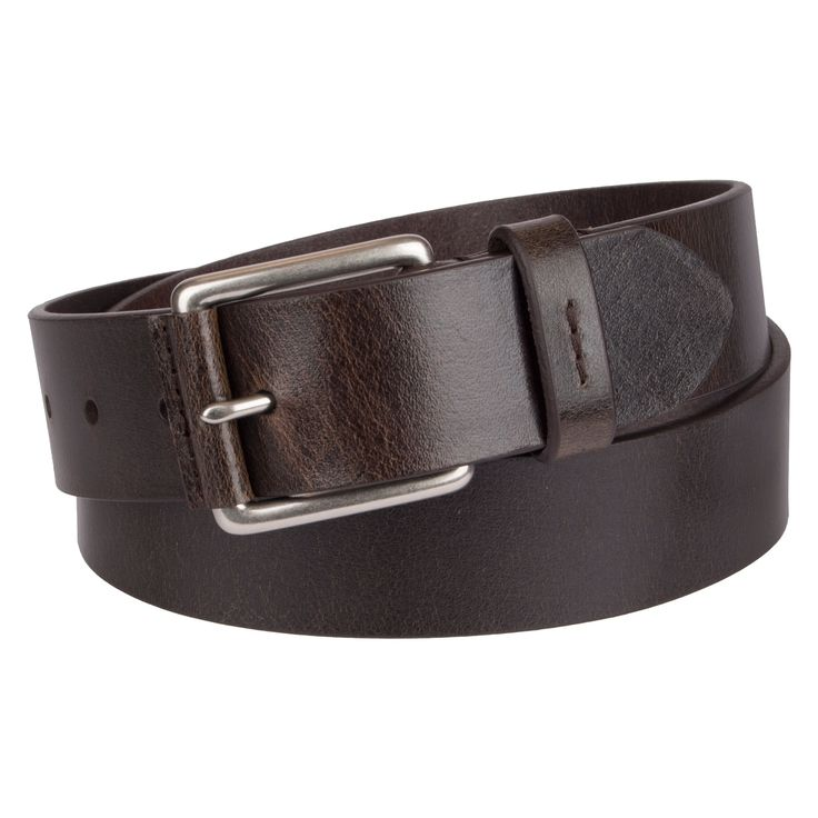 Denizen from Levi's Men's Brown Nose Wrap Non-Reversible Belt - Brown XL