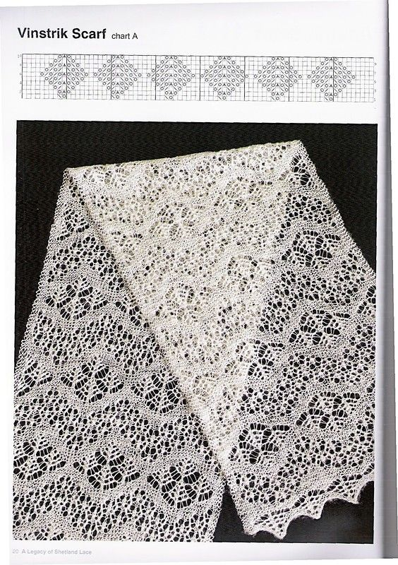 Legacy of Shetland Lace.                                                                                                                                                                                 More