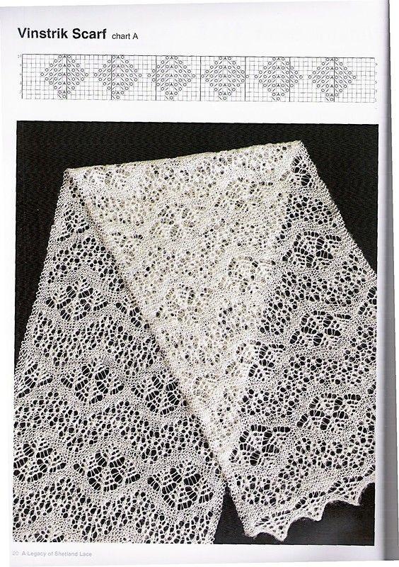 Legacy of Shetland Lace.                                                                                                                                                                                 More