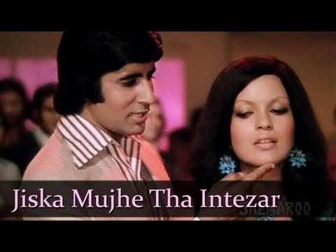 ▶ Jiska Mujhe Tha Intazaar - Amitabh Bachchan - Zeenat Aman - Don - Top Bollywood SuperHit Songs - YouTube