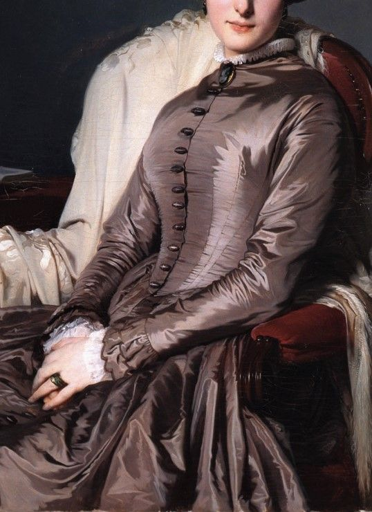 Portrait of Countess of Bellefonds by Jean Hegesippe Vetter, 1849