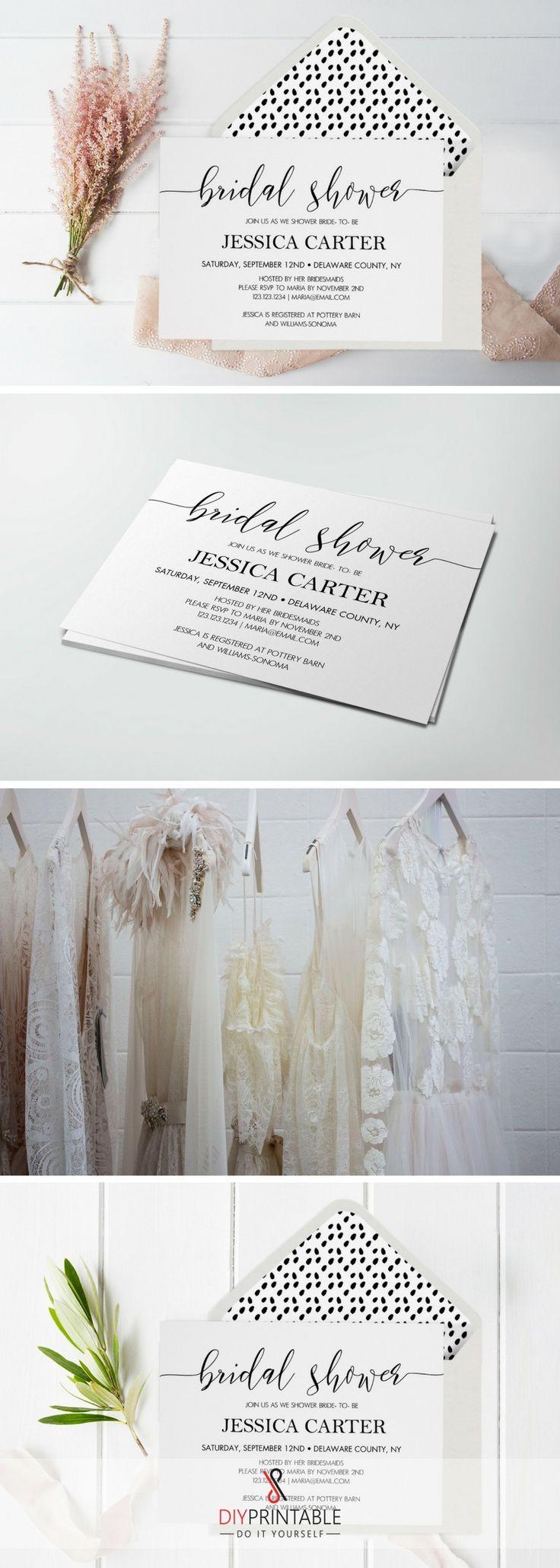 Best Rustic Bridal Shower Invitations Ideas On Pinterest