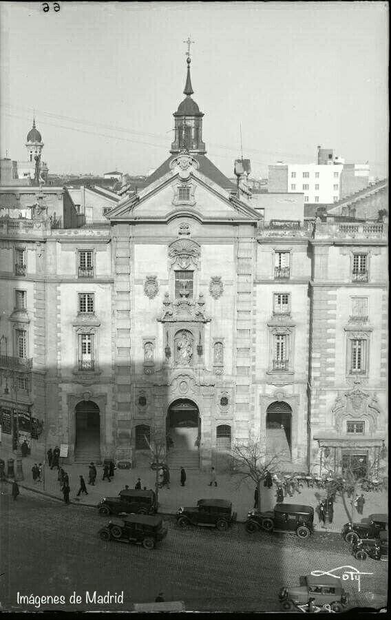 La Iglesia de San José hacia 1930 foto Antonio Passaporte