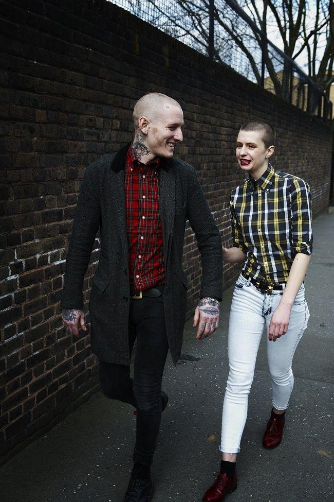 Skinhead culture (fashion) I like on men: