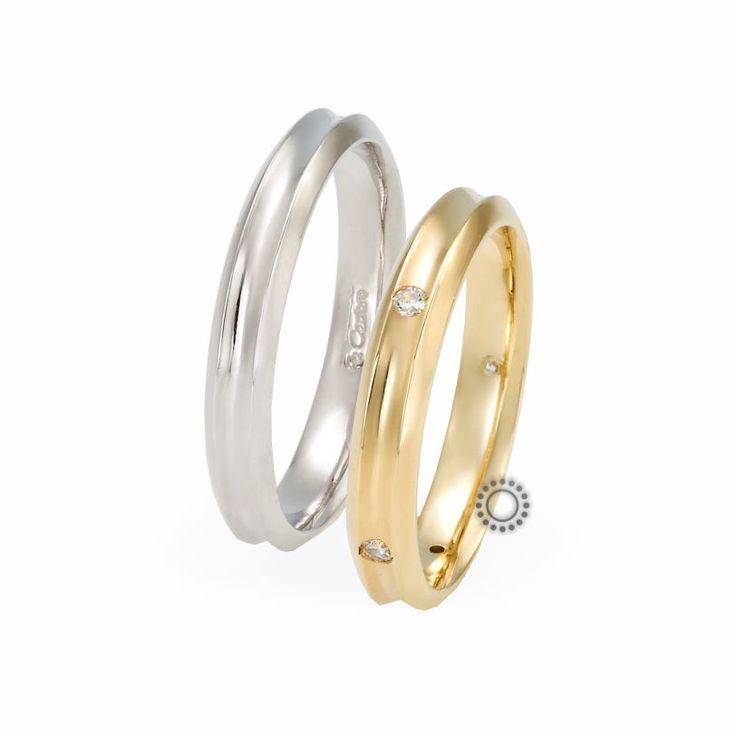 Βέρες γάμου Facadoro 16Α/16Γ - Ένα μοντέρνο σχέδιο από βέρες γάμου FaCadoro | Κόσμημα-Ρολόι ΤΣΑΛΔΑΡΗΣ στο Χαλάνδρι #βέρες #βερες #γάμου