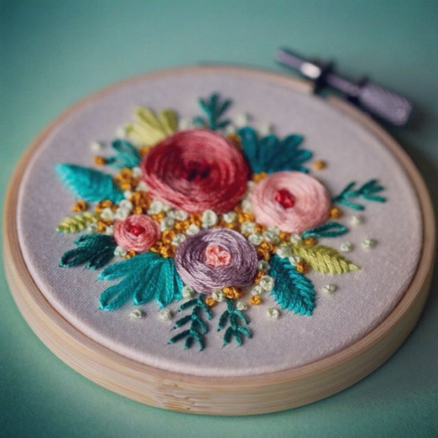 Instagram photo by @femme.broidery via ink361.com