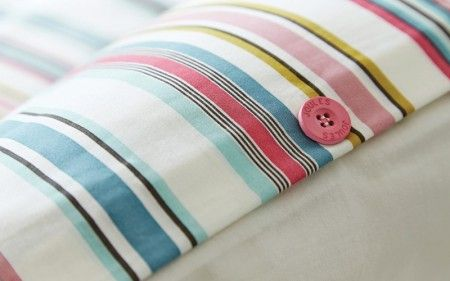 Multi Coloured Striped Bedding | Joules Bath Stripe Bed Linen at Bedeck 1951