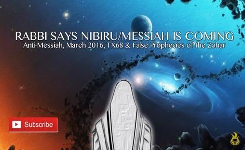 Rabino Diz: NIBIRU/MESSIAS está Vindo [TX68?]