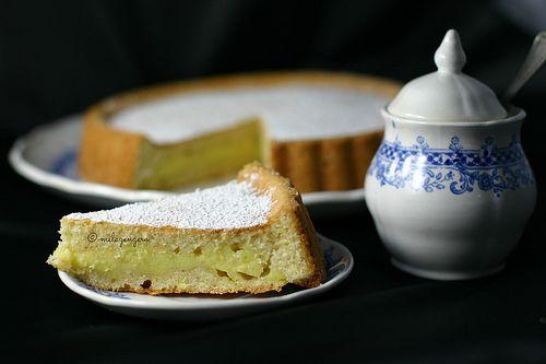 MelaZenzero: Torta che si cuoce con la crema dentro: la facilis...