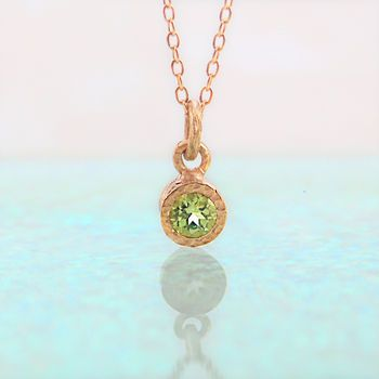 product american ultimate birthstone necklace august gifts peridot swiss