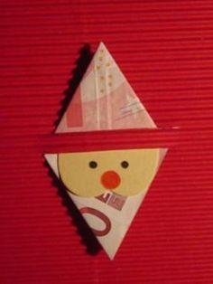 nikolaus weihnachtsmann geldgeschenk basteln pinterest weihnachten. Black Bedroom Furniture Sets. Home Design Ideas