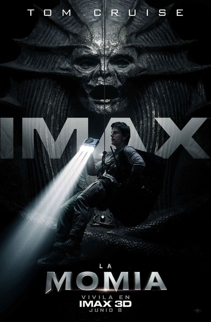 La momia (Póster IMAX) - 2017.