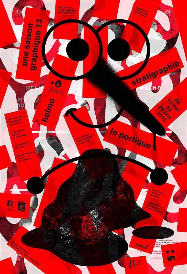 HELMO (Thomas Couderc & Clement Vauchez), affiche pour Saison Graphique 13