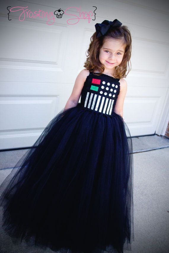 Darth Vader Tutu Dress- long