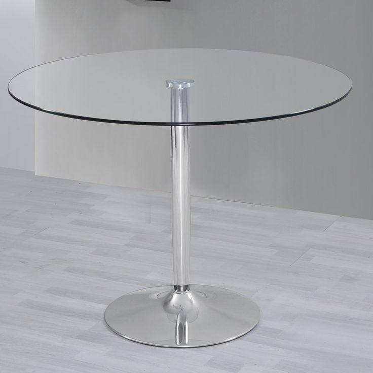 10 ideas sobre mesa redonda cristal en pinterest for Mesa salon cristal