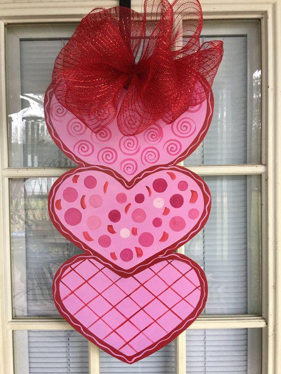 120 best valentine door hangers images on Pinterest