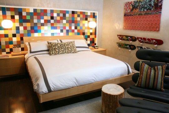 Boys skateboard bedroom ideas decor