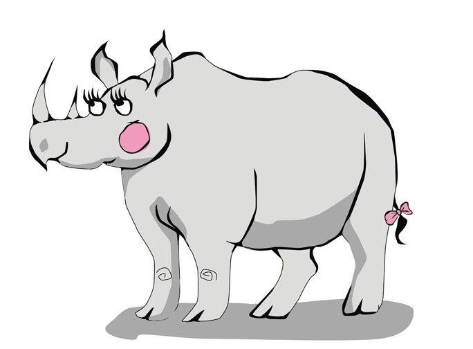 Rhino Illustration