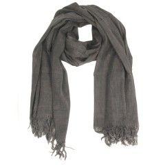 Tif-Tiffy basic shawl wool antraciet