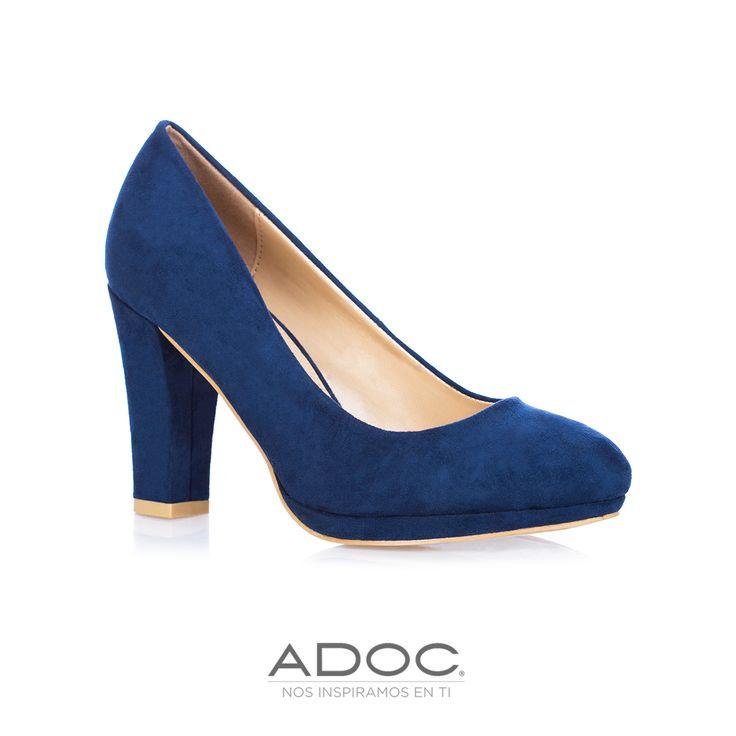 Zapatos Tylor de ADOC disponibles en color azul, negro, café y vino.