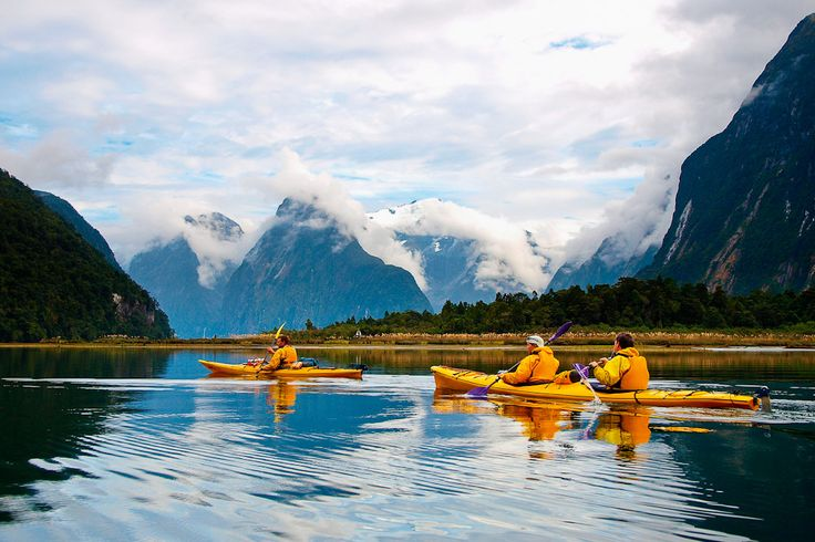 49. Explore Milford Sound in New Zealand