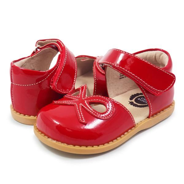Carter S Red Crib Shoes