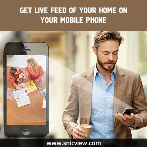 Secure your home with one touch, range of home security solutions available at Snicview. Ensure safety of your loved ones, click here: http://www.snicview.com/