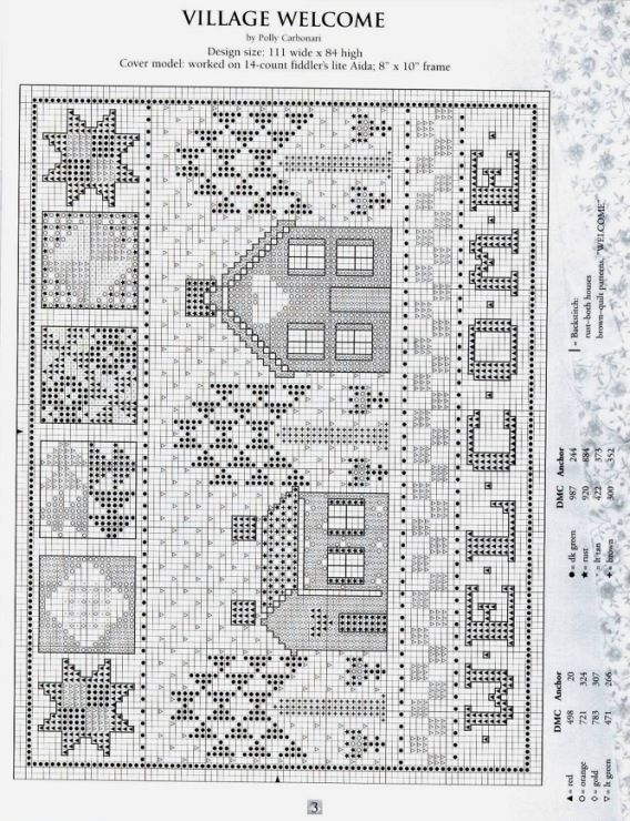 (21) Gallery.ru / Фото #4 - Cross Stitch Crazy About Quilts - 58savinkina