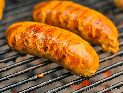 Buffalo Chicken Sausages http://www.seriouseats.com/recipes/2013/01/buffalo-chicken-sausage-recipe.html