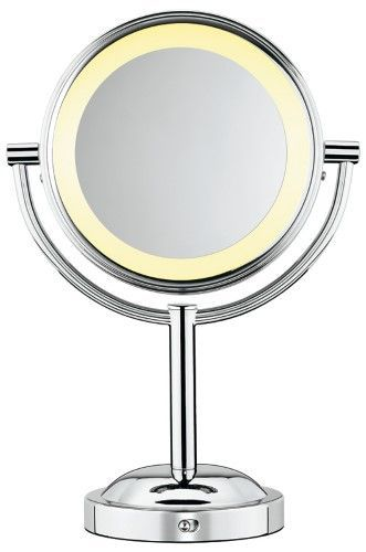 Conair 1X/5X Double Sided Lighted Makeup Mirror $19.99