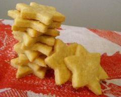 Cheddar star biscuits