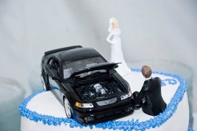 car guy wedding cake topper 17 best ideas about mustang cake on oreo 12388