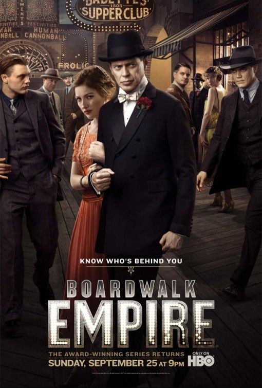 Boardwalk Empire - An Atlantic City politician plays both sides of the law…