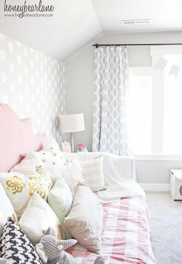 Pink And Gray Little S Room Bedroom Ideas Home Decor