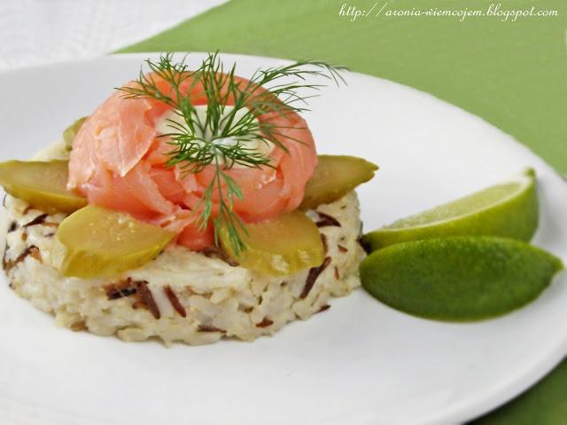 Wiem co jem - Mix ryżowy z wędzonym łososiem