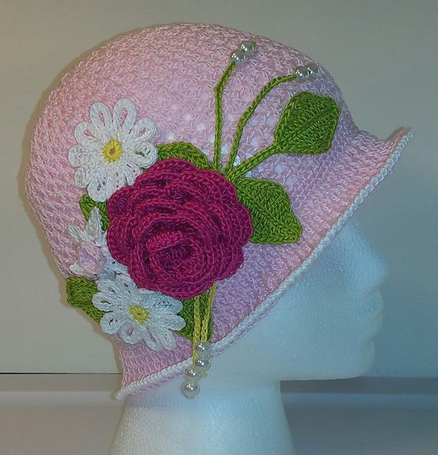 Ravelry: Summer Cloche and Panama Hat pattern by Upper Crust Crochet
