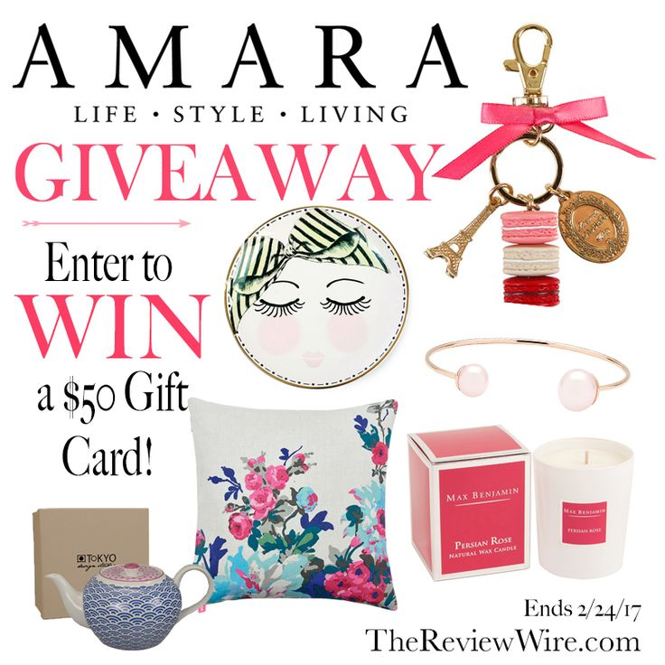 The Review Wire: Amara Luxury Gifts: $50 Gift Card Giveaway | Ends 2.24.27   #giveaway #gifts