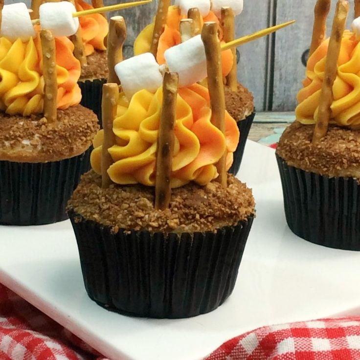 Best 25 Camping Recipes Ideas On Pinterest: Best 25+ Campfire Cupcakes Ideas On Pinterest