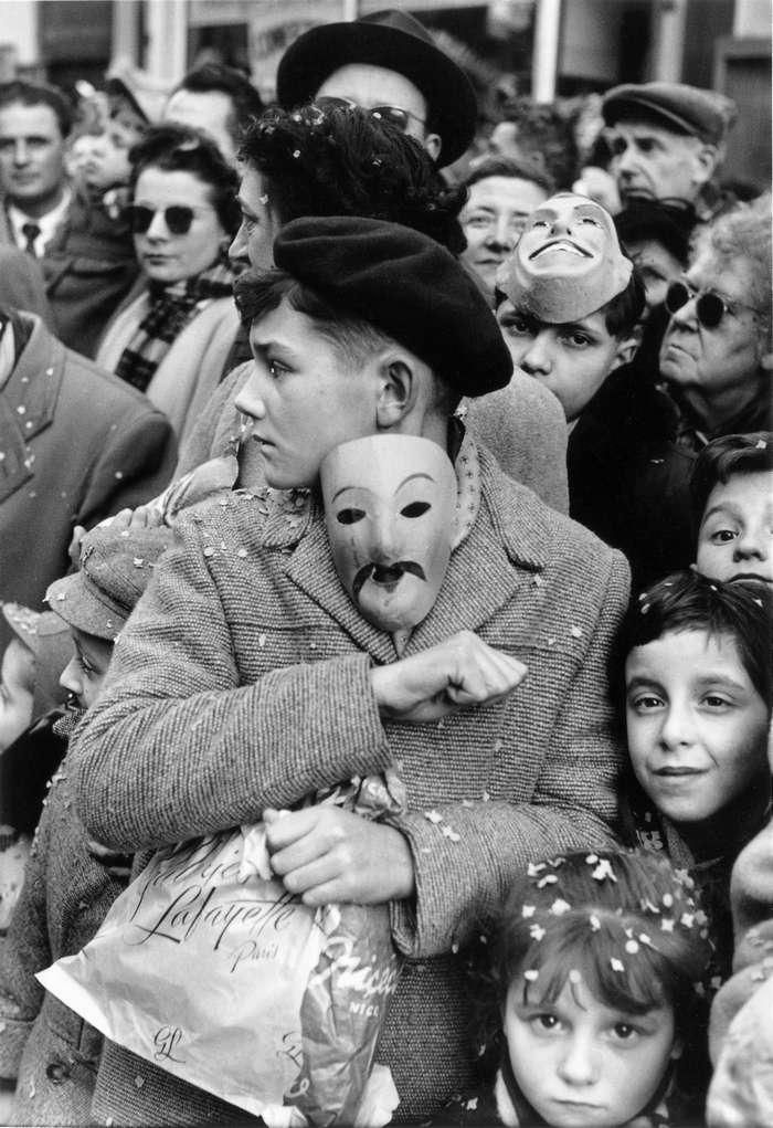 Izis Bidermanas, Carnaval de Nice, 1956