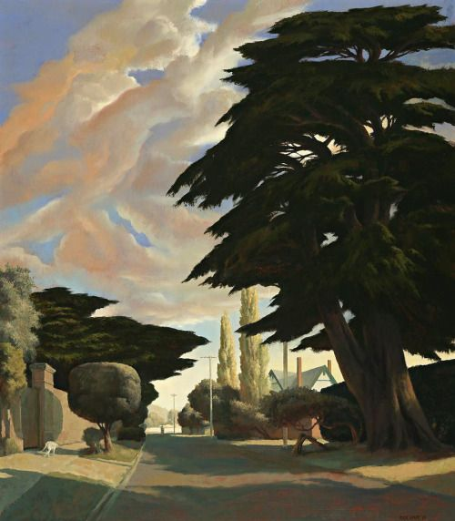 "thunderstruck9: "" Rick Amor (Australian, b. 1948), The Island, 2003. Oil on canvas, 146.5 x 128.5 cm. """