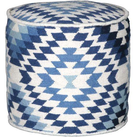 Aztec Round Ottoman - Complete Pad ®