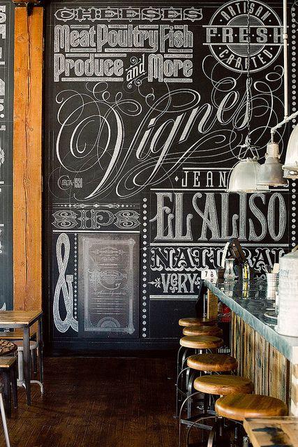 Chalk Board - Typography