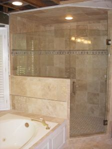 Bathroom Knee Wall 23 best shower enclosure. images on pinterest | bathroom ideas