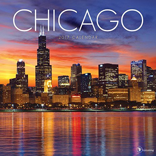 New 2017 Chicago calendar.   Some really great Chicago Pix.   2017 Chicago Wall Calendar by TF Publishing http://amzn.to/2iJnGGT