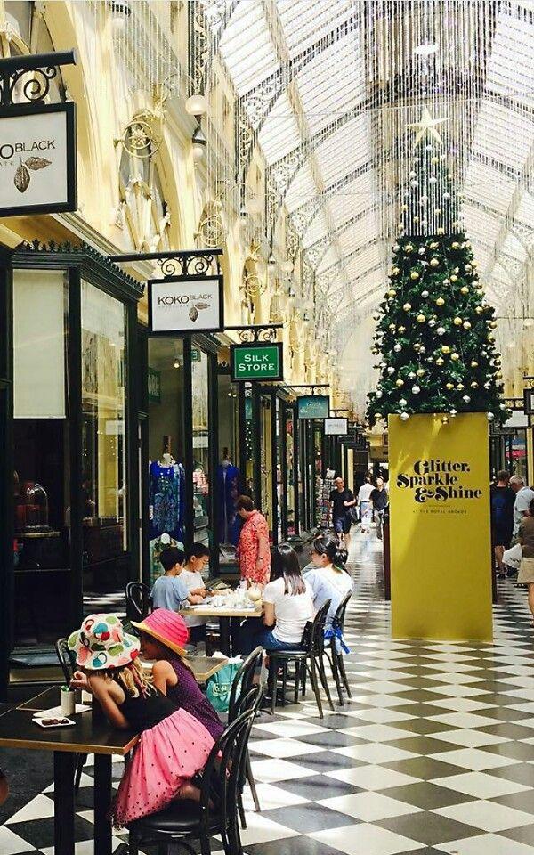 Xmas in Melbourne, Royal Arcade