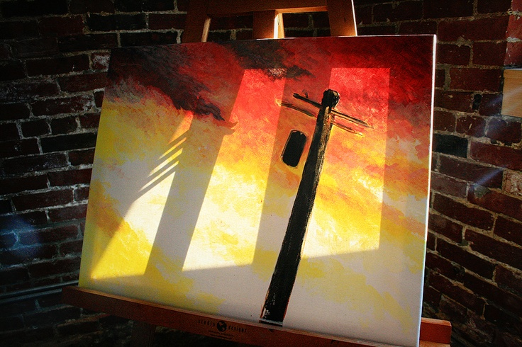 John Houseman's latest painting... in progress.  #beverlyma #wickedartbar #art #painting #artbar #paintbar