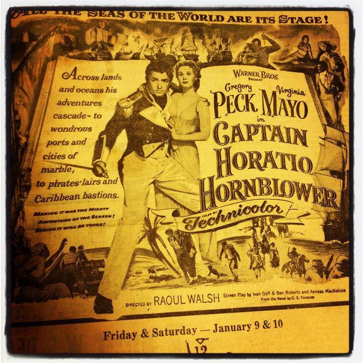 Before Captain Jack Sparrow there was Captain Horatio Hornblower. #ThrowBackThursday Technicolor Edition 1951 #TBT