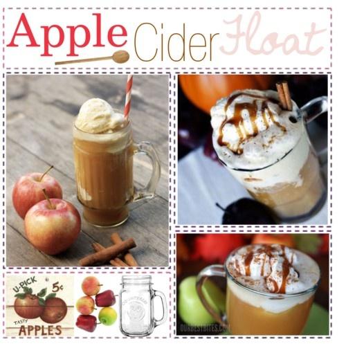 more apple cider floats