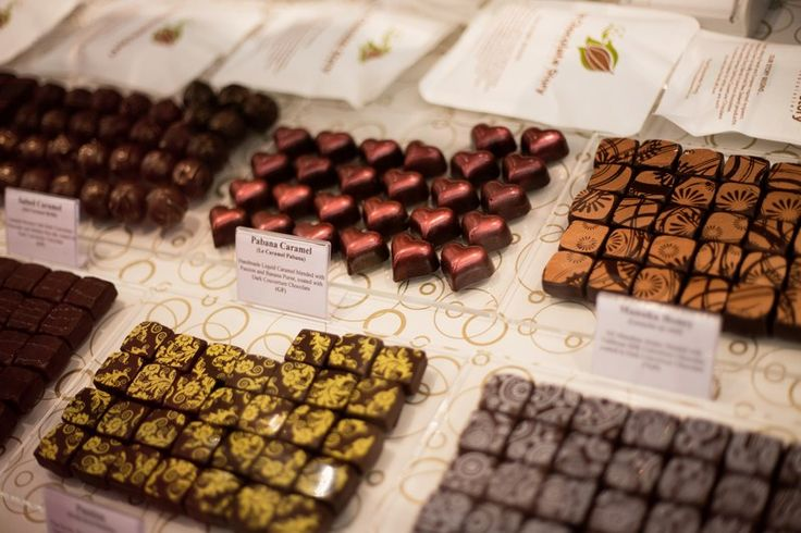 The Chocolate Story at the New Zealand Chocolate Festival 2013 - Credit to Allan Carino