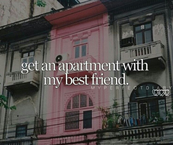 how to get my own apartment